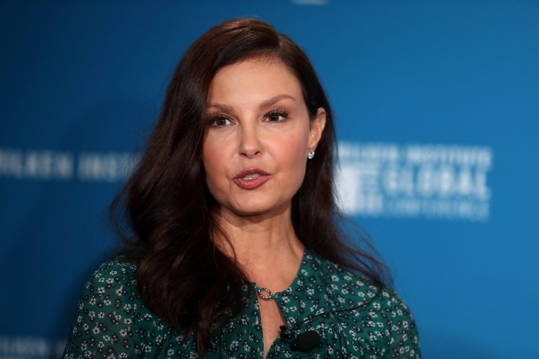 Image: Actress Ashley Judd speaks at the Milken Institute's 21st Global Conference in Beverly Hills