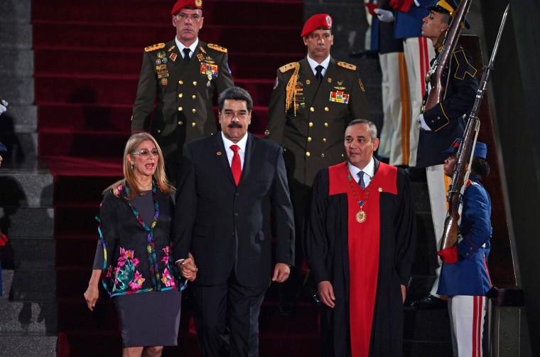 Image: VENEZUELA-MADURO-SECOND-TERM-INAUGURATION