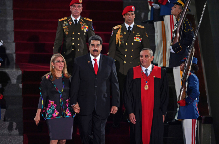 Image: VENEZUELA-MADURO-SECOND-TERM-INAUGURATION