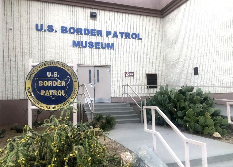 The entrance of the U.S. Border Patrol Museum in El Paso, Texas on Nov. 29, 2018.