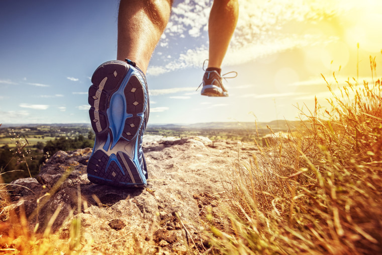 Image: Healthy trail running