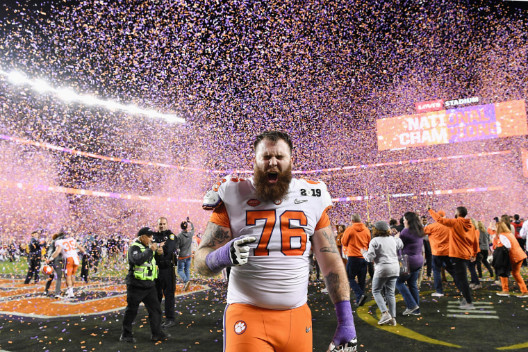 Image: College Football Playoff National Championship Presented By AT&T - Alabama v Clemson