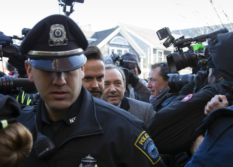 Image: Kevin Spacey at court