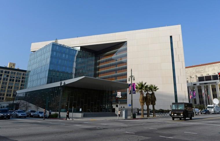 Image: Los Angeles police headquarters