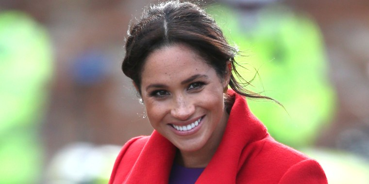Meghan gives an update on her due date