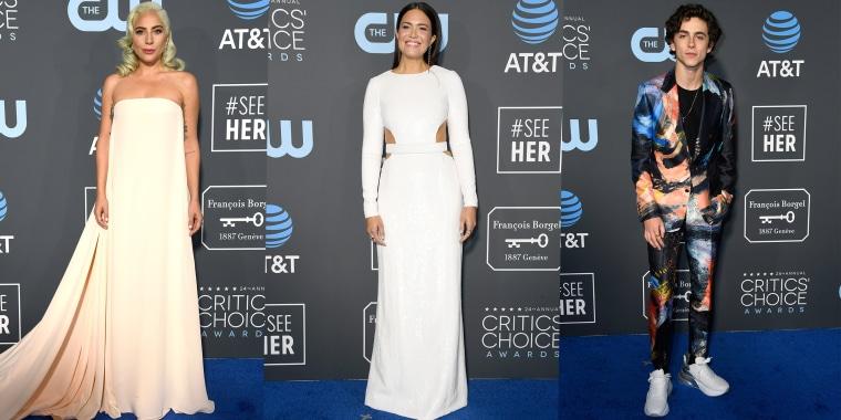 Critics' Choice Awards red carpet roundup