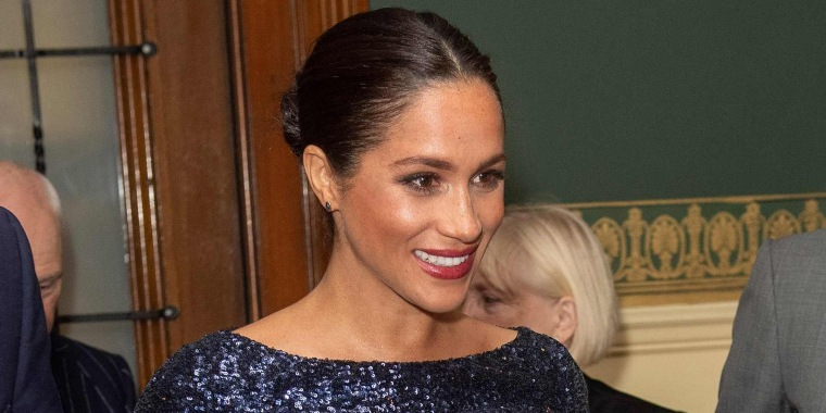 Meghan Markle's sparkly dress is a throwback to one of her pre-royal looks