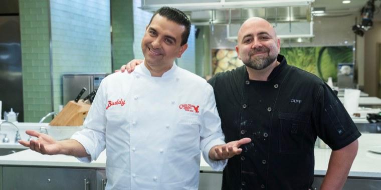 Food Network Buddy Valastro and Duff Goldman