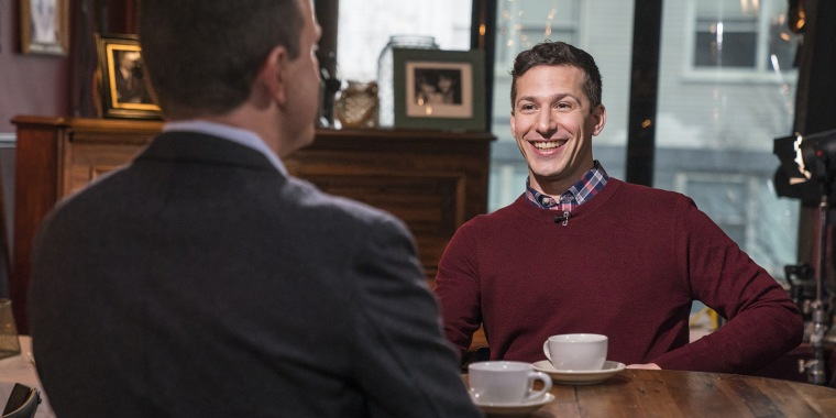 Andy Samberg on his 'SNL' run, having 'Brooklyn Nine-Nine' renewed and more