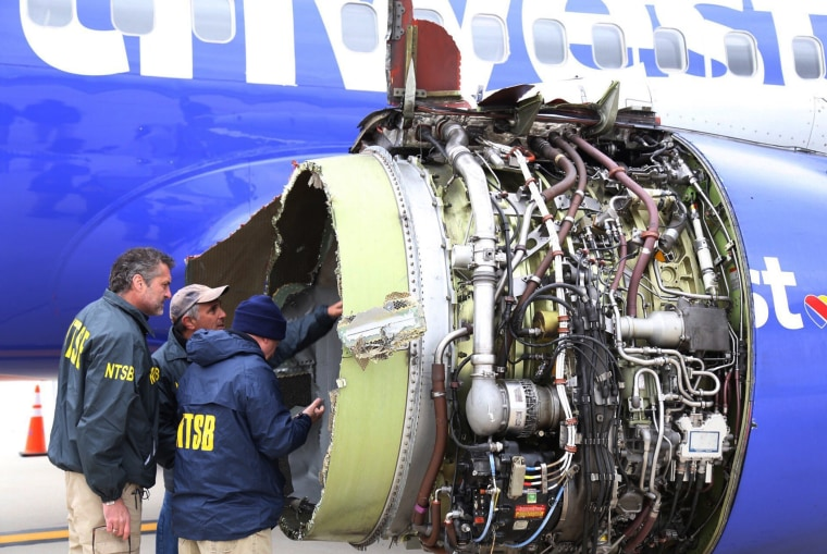 Image: Southwest Airlines engine