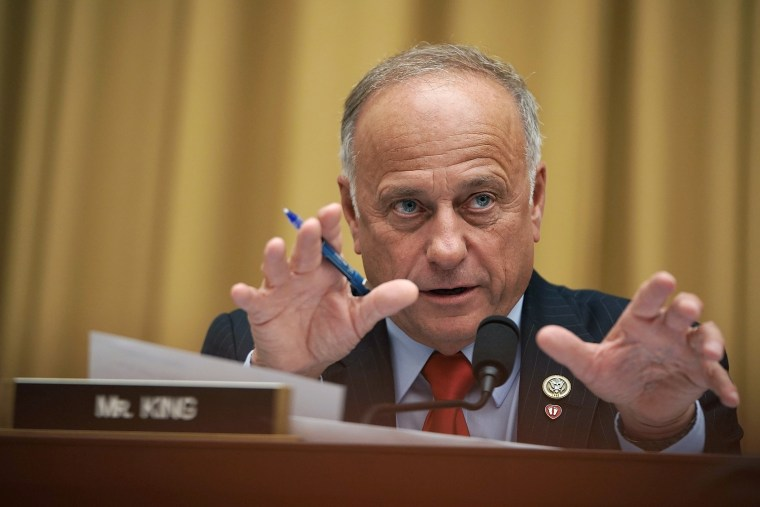 U.S. Rep. Steve King, R-Iowa, speaks during a hearing before the House Judiciary Committee on Capitol Hill on June 28, 2018.