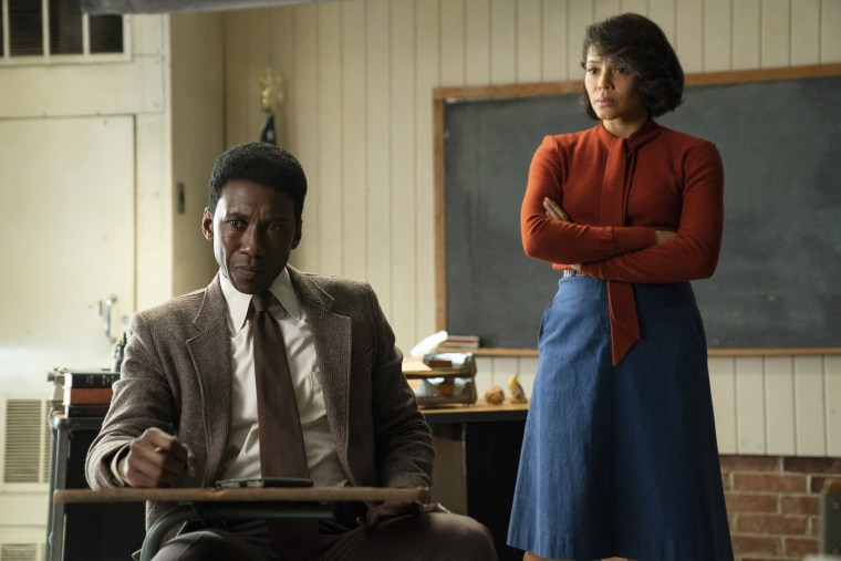 "Mahershala Ali and Carmen Ejogo are a strong match in the third season of ""True Detective."""