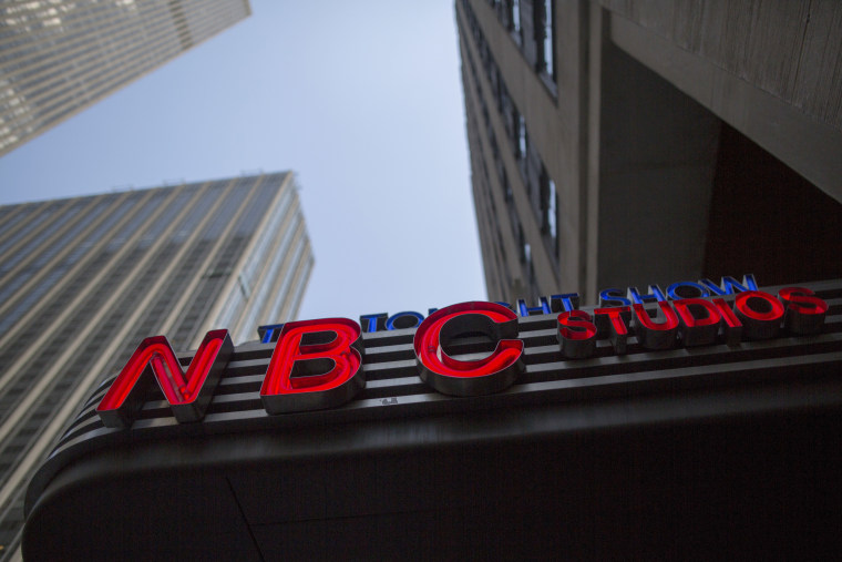 NBC's studios at Rockefeller Center in New York on May 10, 2017.