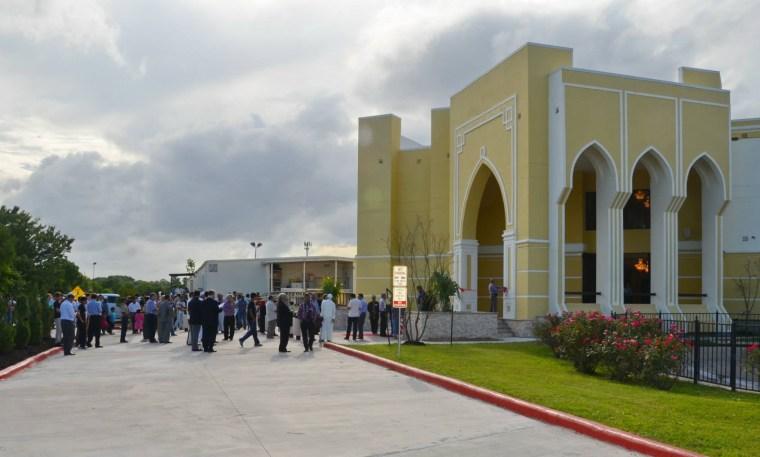 Image: The MAS Katy Center Mosque in Houston, Texas.