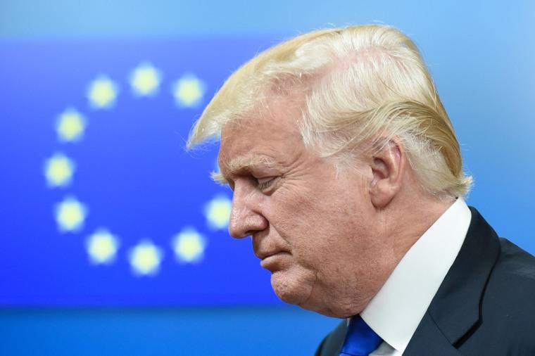 Image: DOnald Trump, EU, NATO