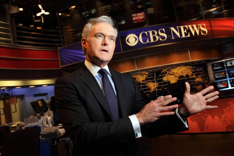 Image: Scott Pelley of CBS Evening News on March 3, 2012.