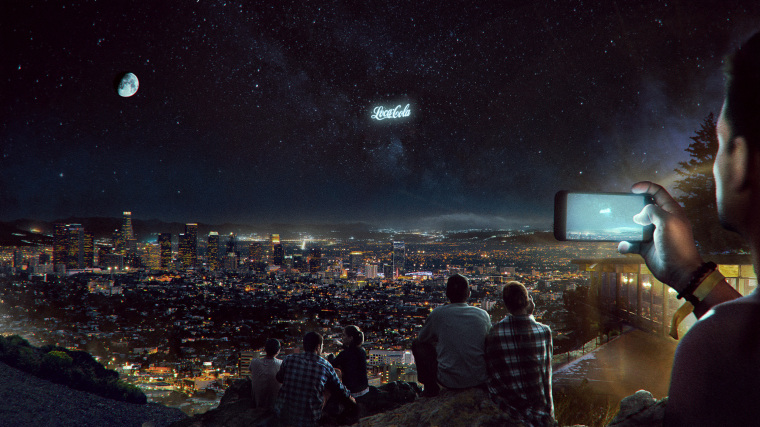 Image: A Russian startup, StartRocket, plans massive billboards to beam advertisements to Earth.