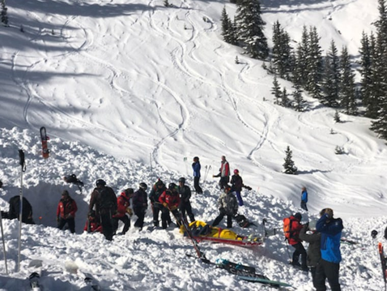 Two skiers buried by New Mexico avalanche in critical condition