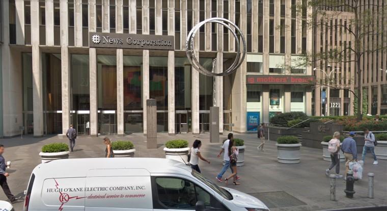 Image: News Corp Building Exterior