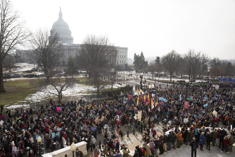 Image: March for Life in Washington, DC, USA