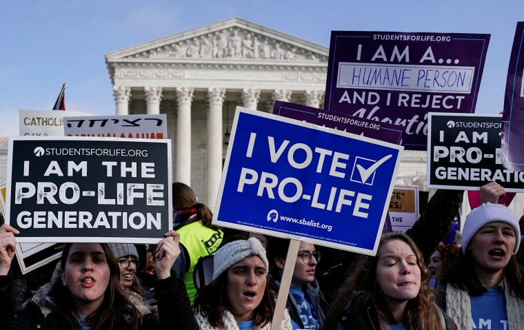 Anti-abortion marchers rally for the 46th annual March for Life in Washington