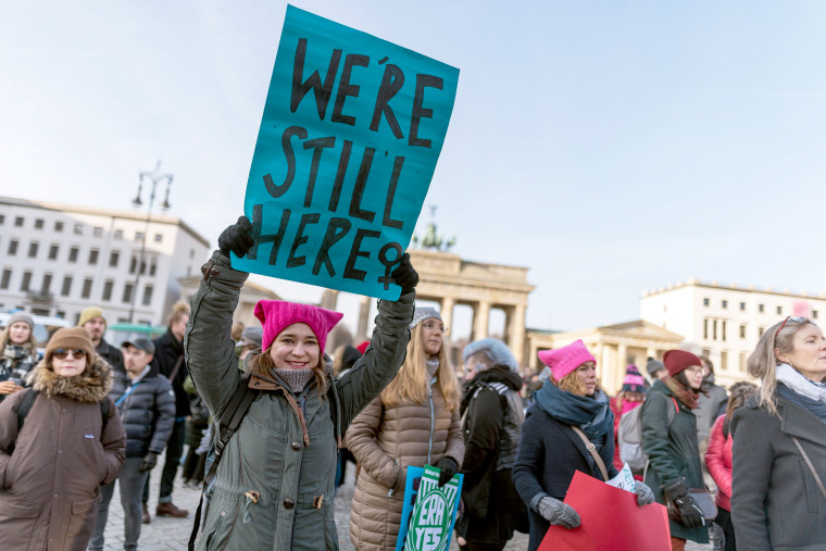 Image: 2019 Women's March in Berlin