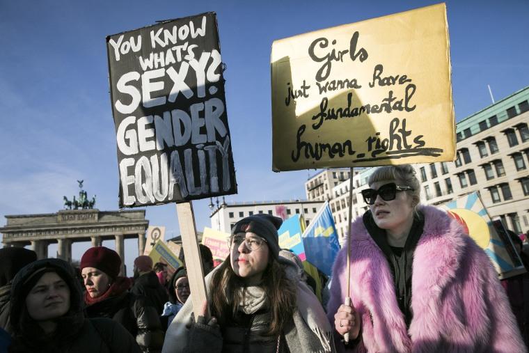 Image: Women's March Berlin