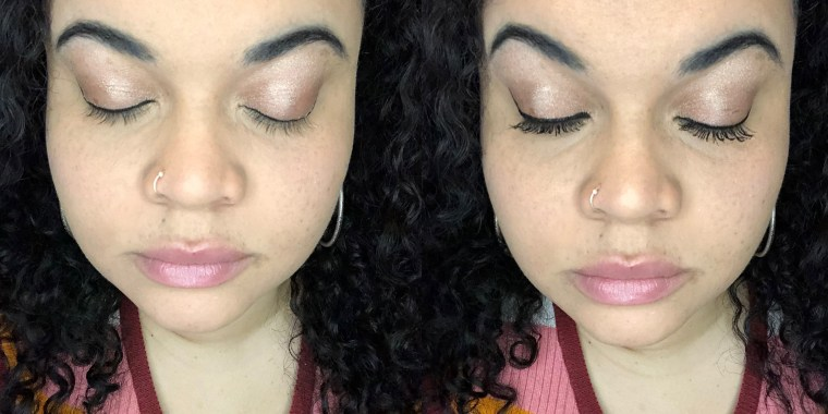 This $5 mascara is great for long, thick lashes
