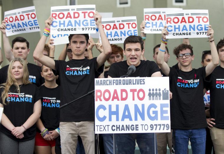 Florida's youth vote skyrockets after Parkland students' activism