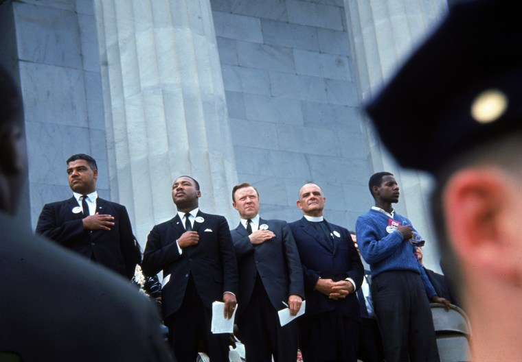 Image: Civil Rights Leaders march on Washington