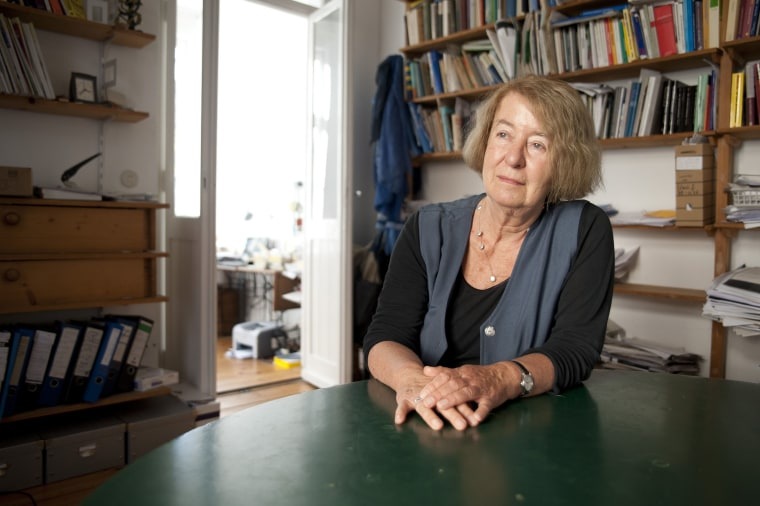 Image: Hilde Schramm, daughter of Albert Speer, of the Zurueckgeben foundation