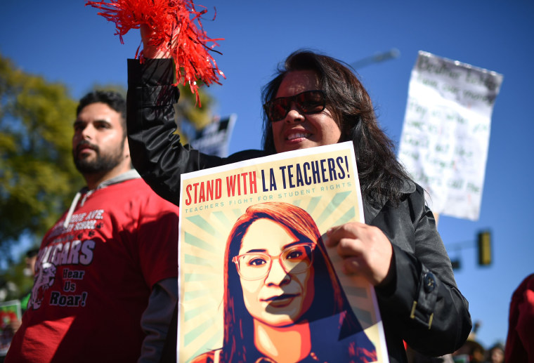 Image: LA Teacher Strike