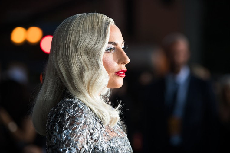 "Image: Lady Gaga attends the premiere of ""A Star is Born"" in Los Angeles on Sept. 24, 2018."