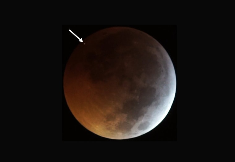 Watch the moon get rocked by a meteorite during this weekend's lunar eclipse