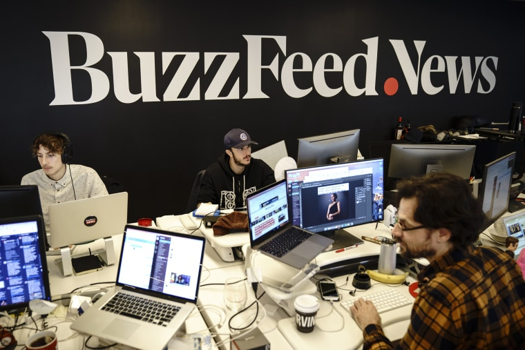 Image: Digital Media Company BuzzFeed's New York Headquarters