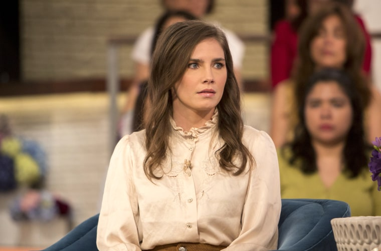 Image: Amanda Knox on Friday May 4, 2018