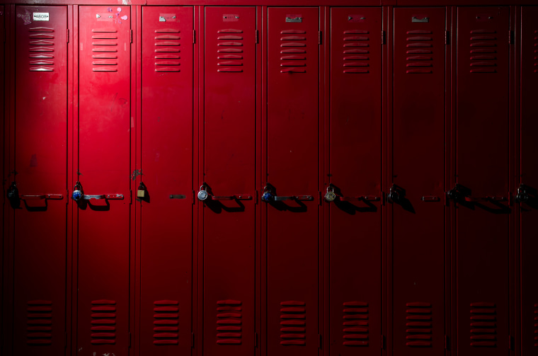 Row of Lockers