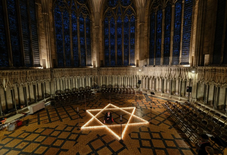 Image: Holocaust Memorial Service Is Held At York Minster