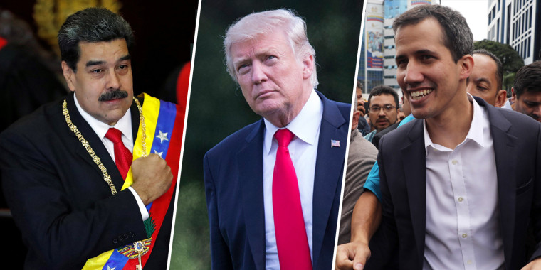 How the Trump administration's move on Venezuela came together