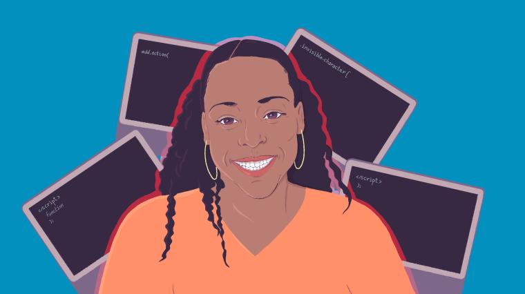Illustration of Veda Woods