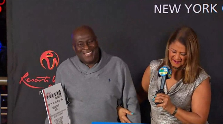 Dave Johnson, a Brooklyn-based truck driver, is the sole winner of the near $300 milllion Powerball jackpot.
