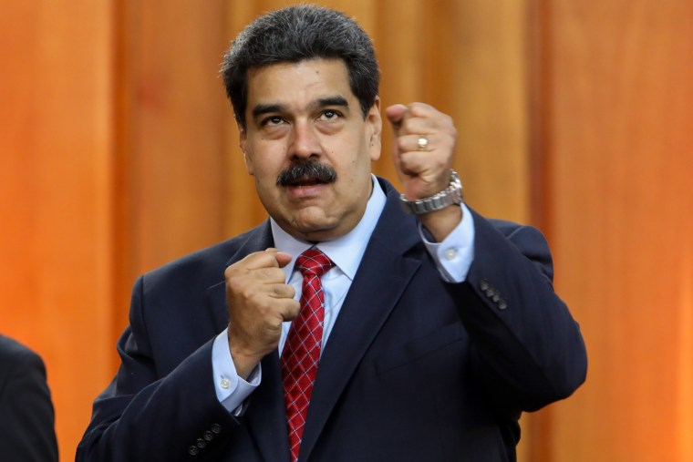 Image: Press conference of Nicolas Maduro in Caracas
