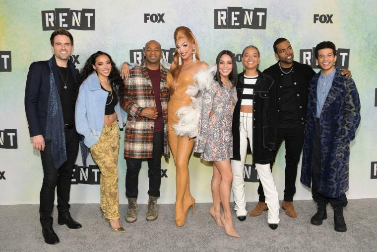 Image: RENT cast
