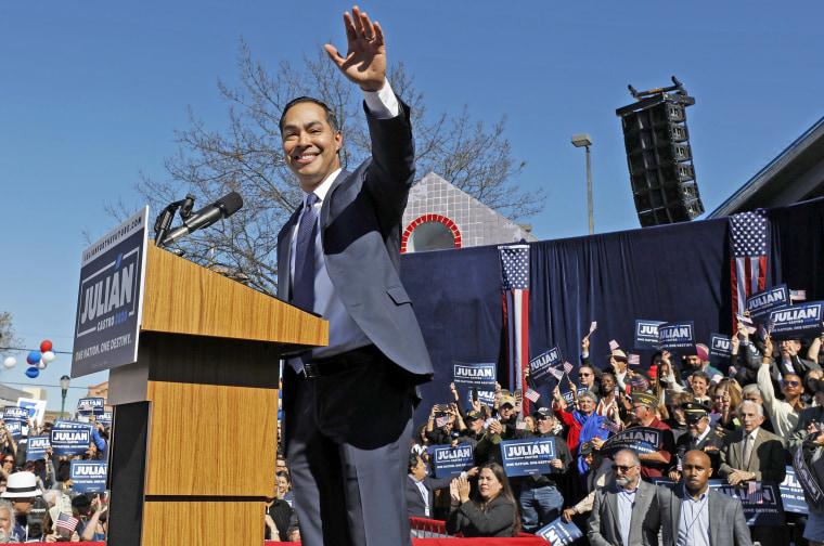 Image: Julian Castro Announces Run For The Presidency