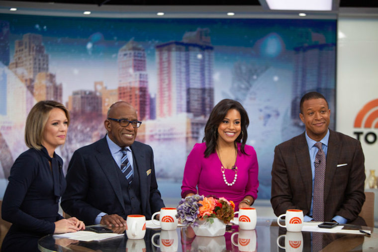 9am anchors Al Roker, Sheinelle Jones, Craig Melvin, and Dylan Dreyer