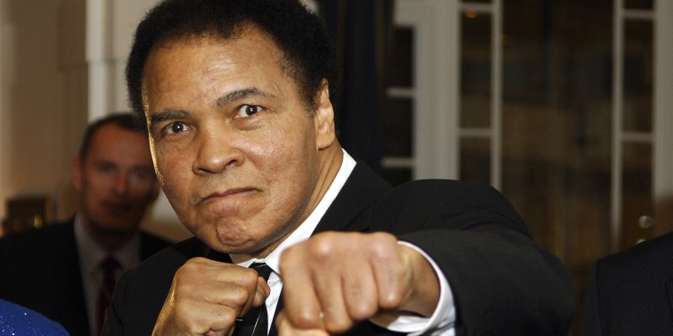 Muhammad Ali's former L.A. home is for sale.