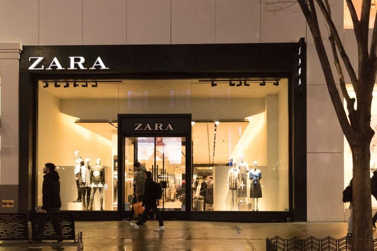 Zara store.