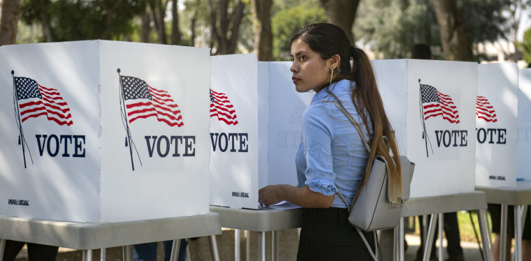 With Election Day Looming, Los Angeles 18-Year-Old Students Just Voted Early During Power California Event