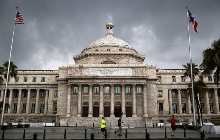 Image: The Capitol in San Juan, Puerto Rico, on July 1, 2015.