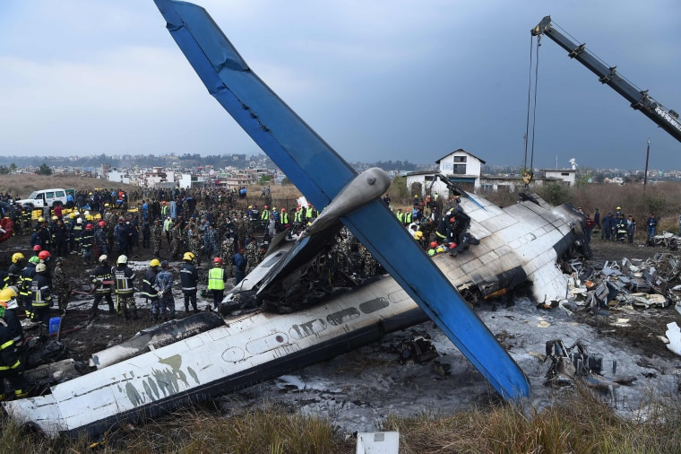 Pilot had 'emotional breakdown' before crash in Kathmandu, Nepal